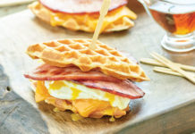 Simple Ham and Waffle Breakfast Sandwiches | Family Life Tips Magazine