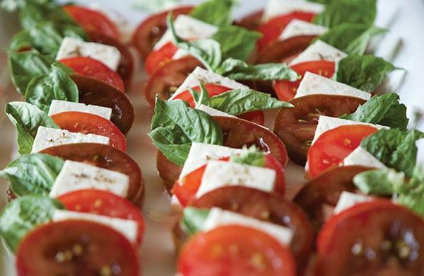Tomato, Feta and Basil Salad | Family Life Tips Magazine