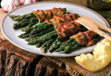 Recipe: Grilled Bacon-Wrapped Asparagus