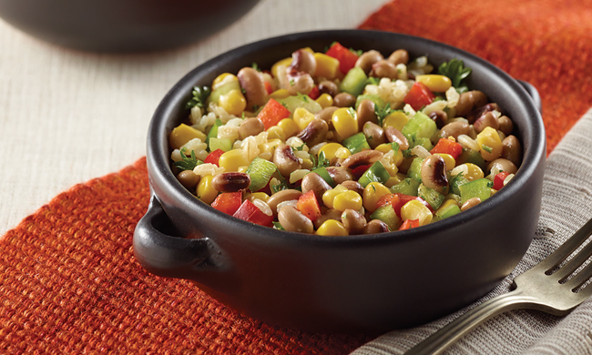 Black-Eyed Pea, Corn and Rice Salad Family Life Tips