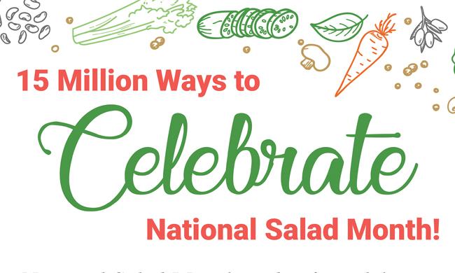 Creative Ways to Celebrate Salads   Family Life Tips Magazine