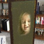 SnapAR App Mirror Living Room