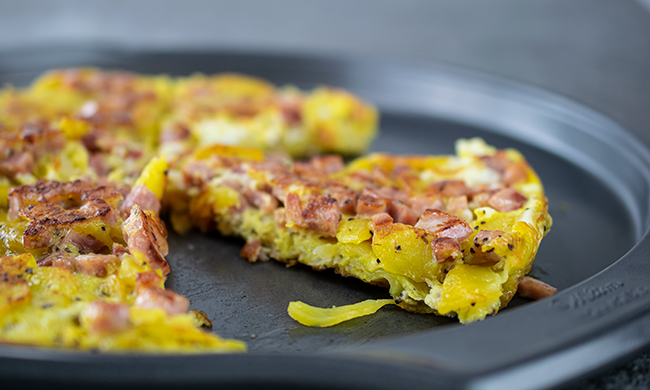 Recipe: Spanish Potato and Onion Omelet - A Fast, Filling Breakfast | Family Life Tips