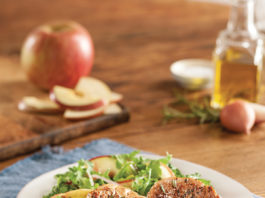 Recipe: Arugula Salad with Steakhouse Pork Tenderloin | Family Life Tips
