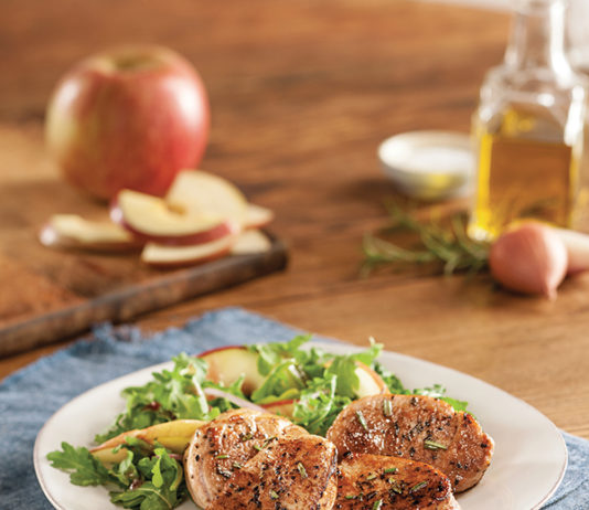 Recipe: Arugula Salad with Steakhouse Pork Tenderloin | Family Life Tips