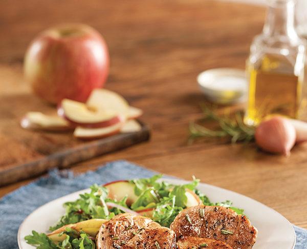 Recipe: Arugula Salad with Steakhouse Pork Tenderloin   Family Life Tips