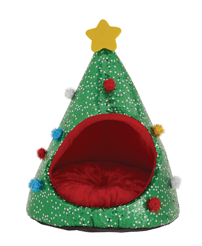 cozy Merry & Bright Tree Hut Bed
