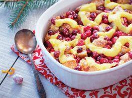 Recipe: Cranberry Orange Bread Pudding