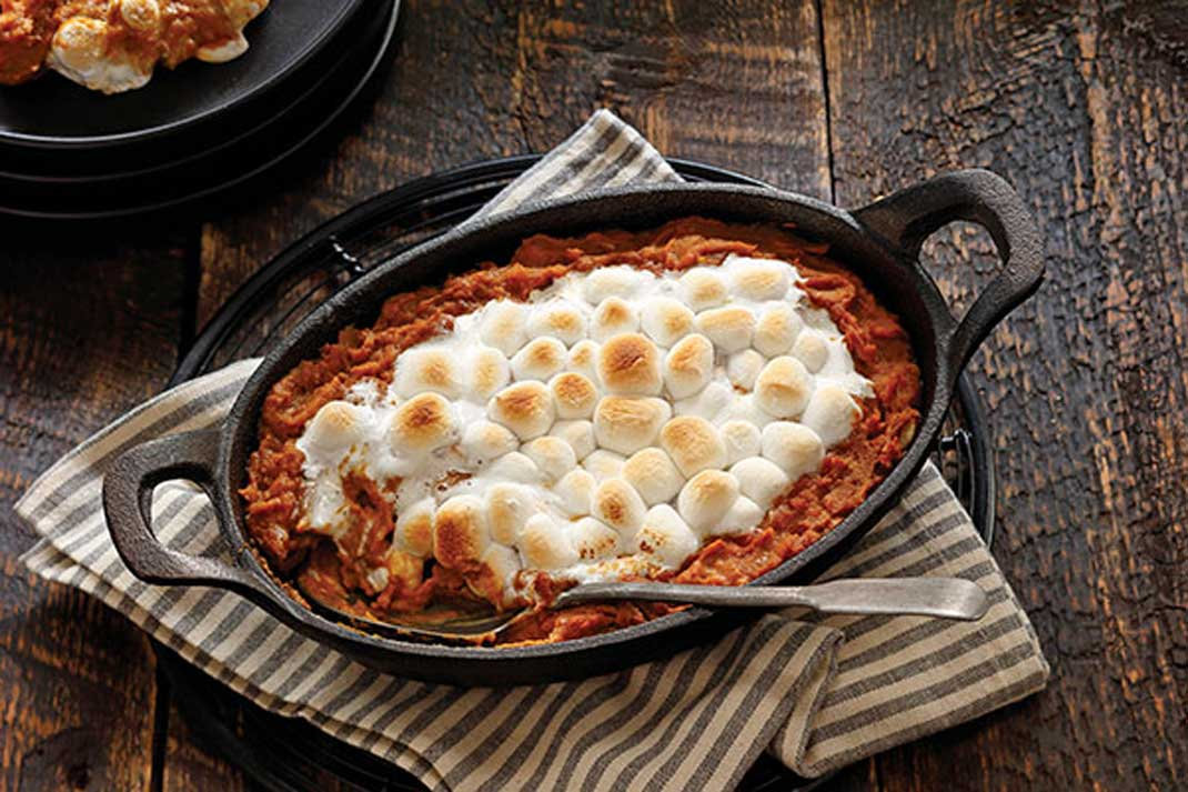 Recipe: Sweet Potato Casserole with Pecans and Toasted Marshmallows | Family Life Tips Magazine