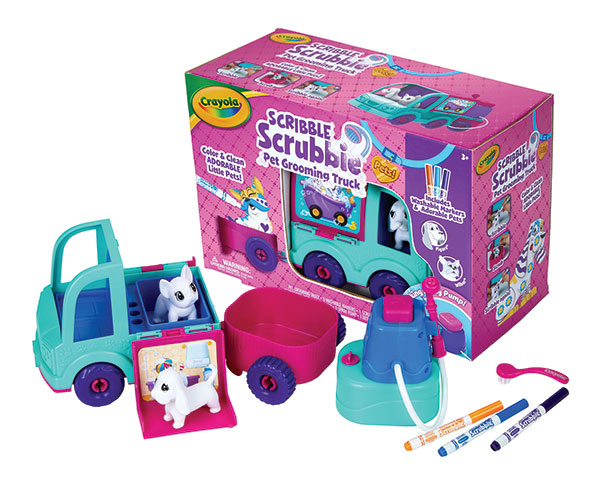 Scribble Scrubbie Pets Grooming Truck by Crayola | Family Life Tips