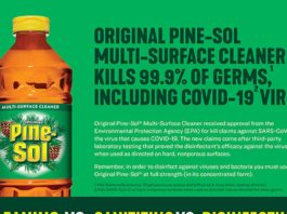 The Difference - Pine Sol Disinfectant Can Help to Keep Your Family Safe