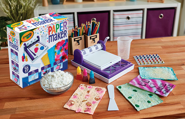 The Paper Maker by Crayola Family Life Tips