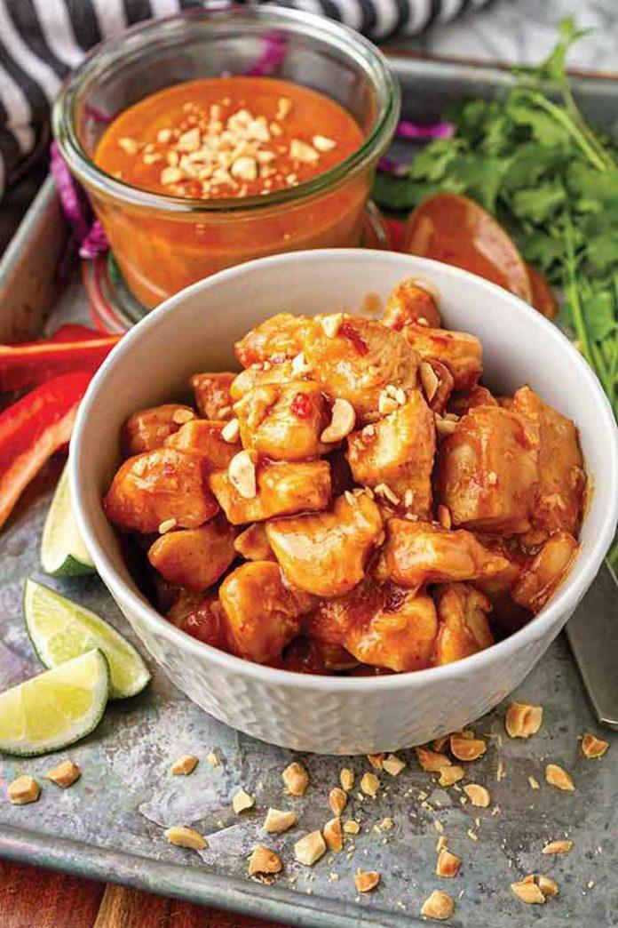 Recipe: Peanut Butter Chicken
